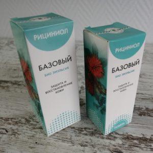 Рекомендации по применению Рициниола базового