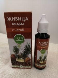 Живица кедра с чагой купить в Красноярске