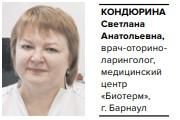Кондюрина Светлана Анатольевна