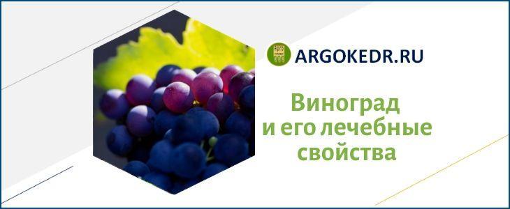 Виноград и его лечебные свойства
